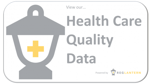 RegLantern Health Care Quality Data Button